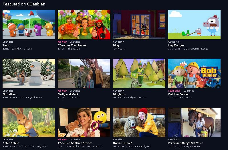 Watch CBeebies Online Abroad