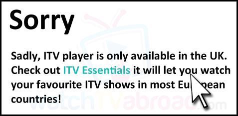 ITV Hub Abroad VPN