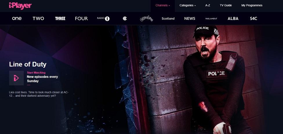 BBC iPlayer in Deutsch
