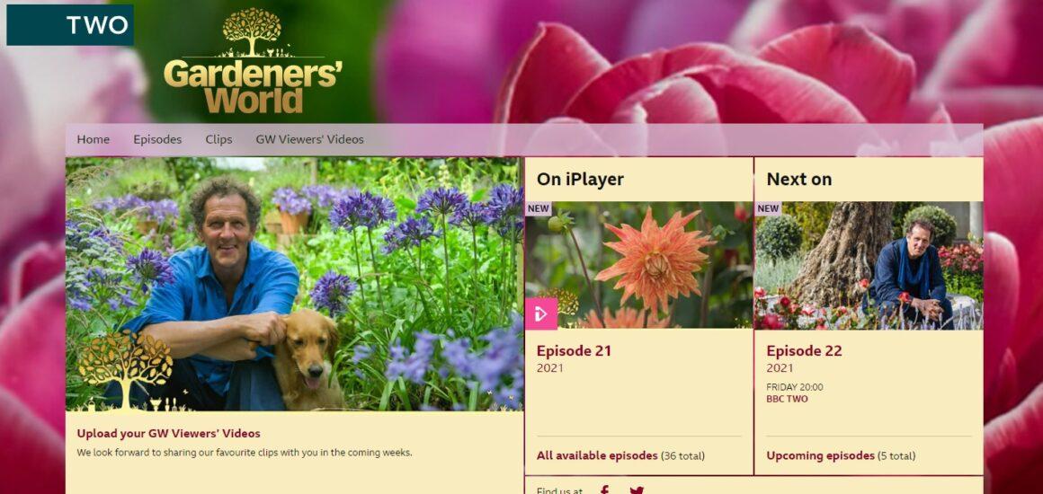 Gardeners World iPlayer